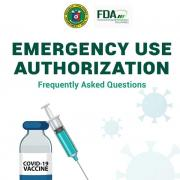 FAQs on emergency use authorization
